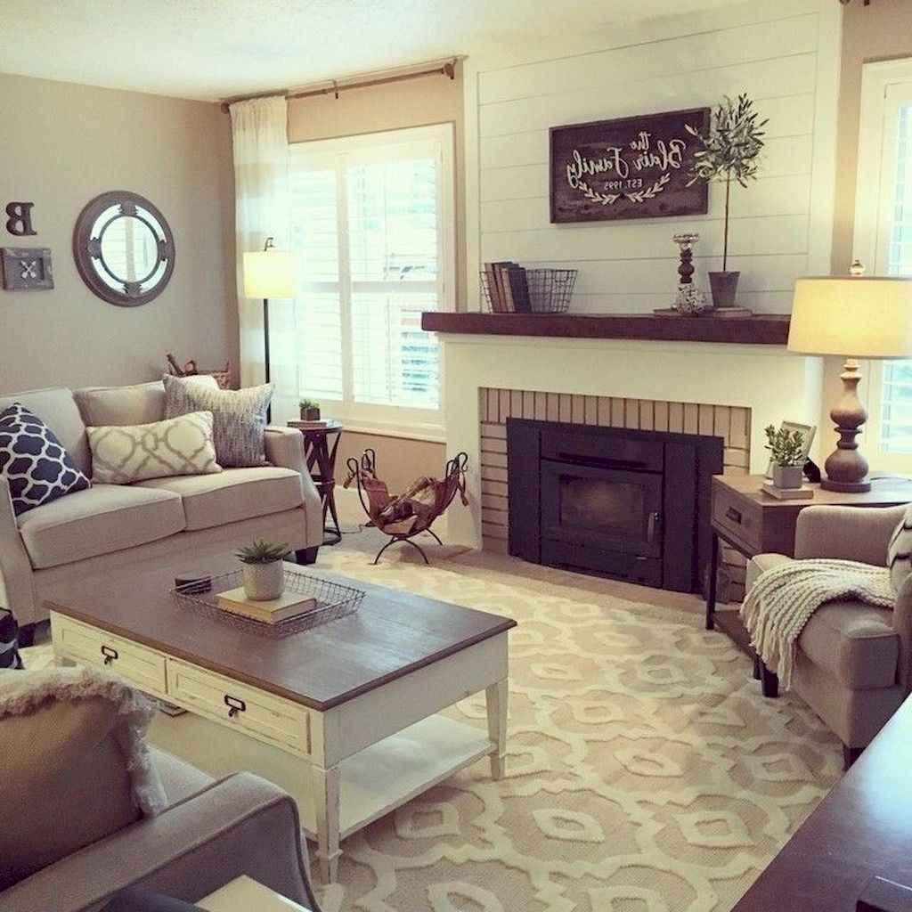04 best modern farmhouse living room curtains decor ideas