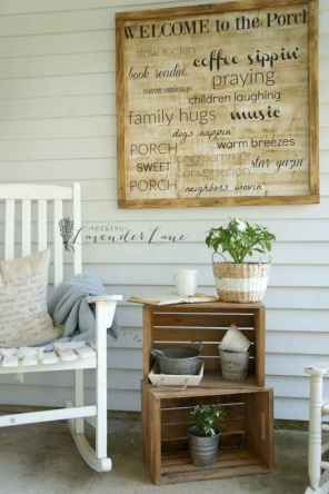 08 beautiful spring front porch decorating ideas