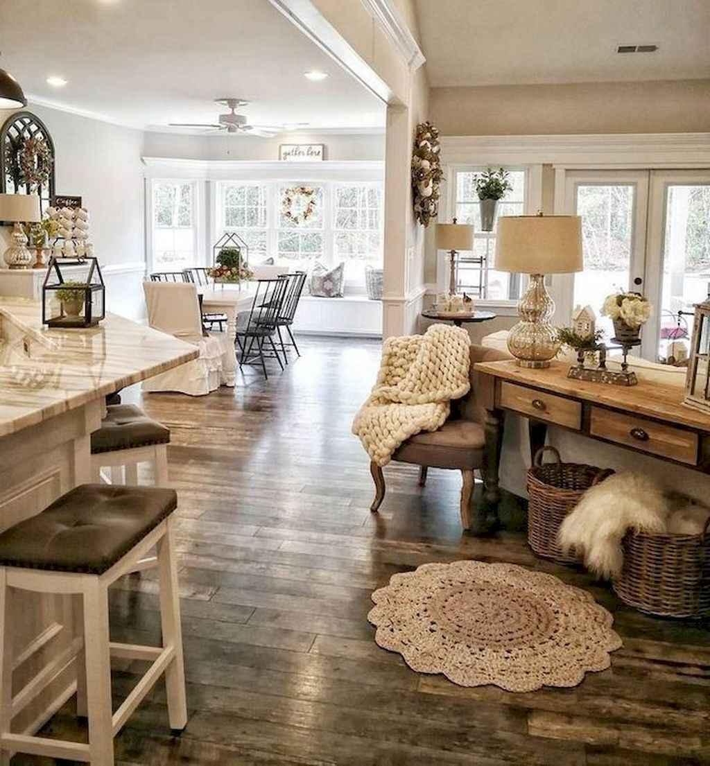 10 cozy farmhouse living room rug decor ideas