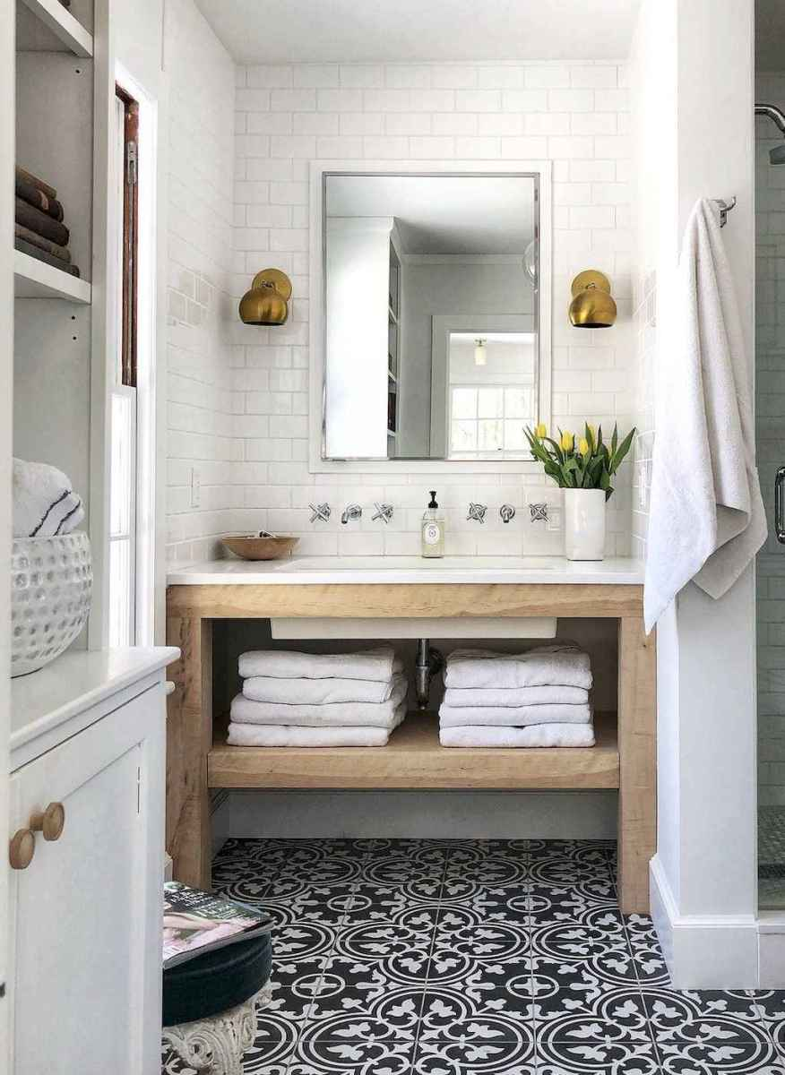 14 beautiful farmhouse bathroom remodel ideas