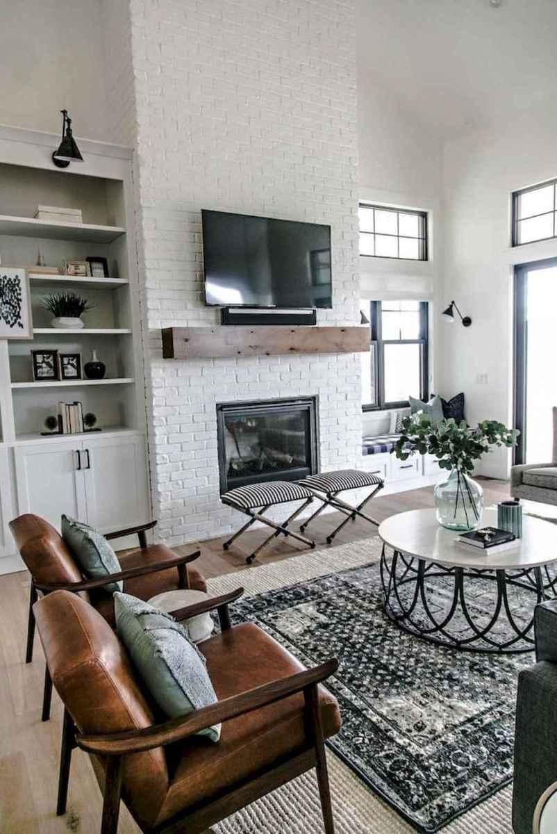 14 cozy farmhouse living room rug decor ideas