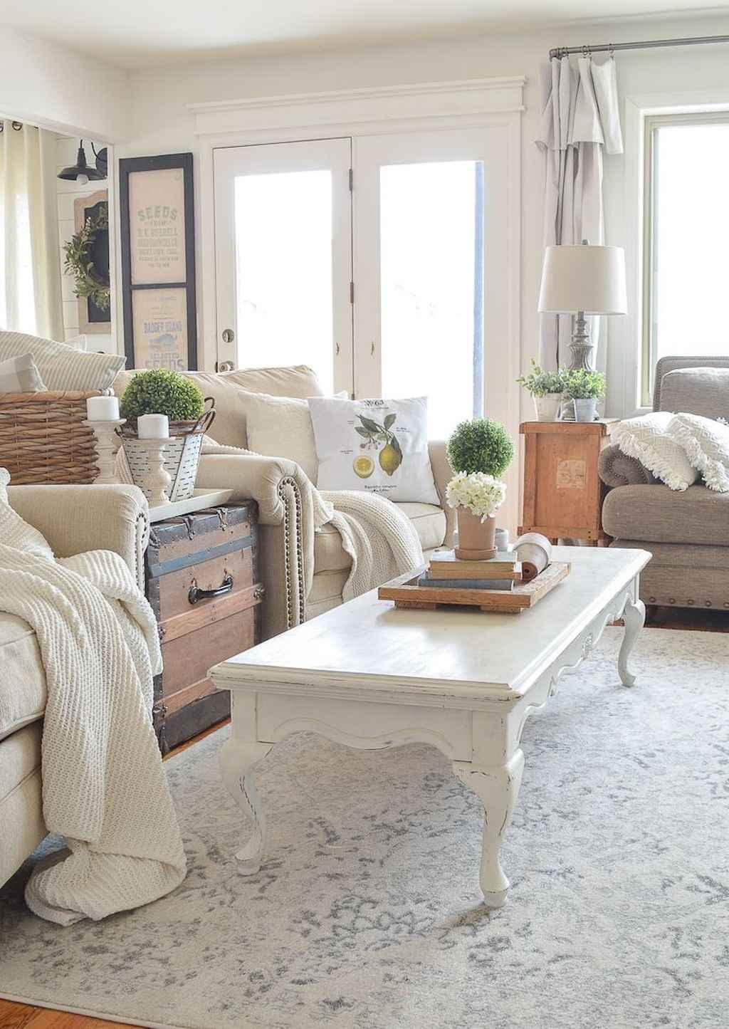 Living Room Rug Ideas: 16 Best Modern Farmhouse Living Room Curtains Decor Ideas