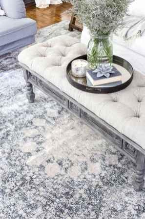 16 cozy farmhouse living room rug decor ideas