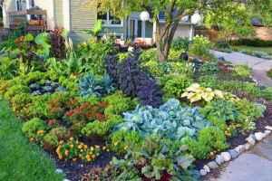 24 affordable backyard vegetable garden design ideas