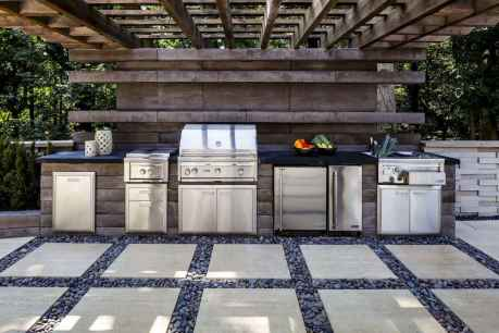 28 fantastic outdoor kitchen design for your summer ideas