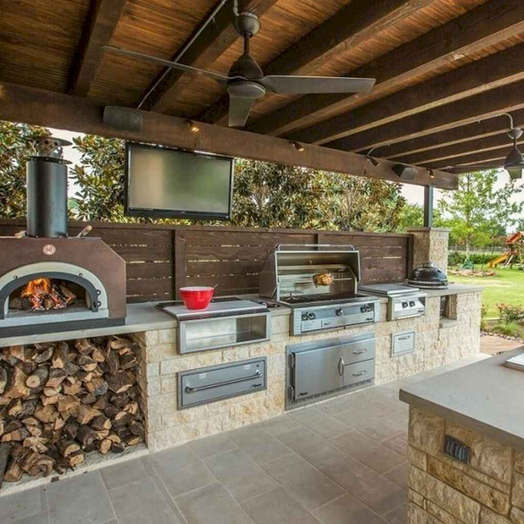 30 fantastic outdoor kitchen design for your summer ideas