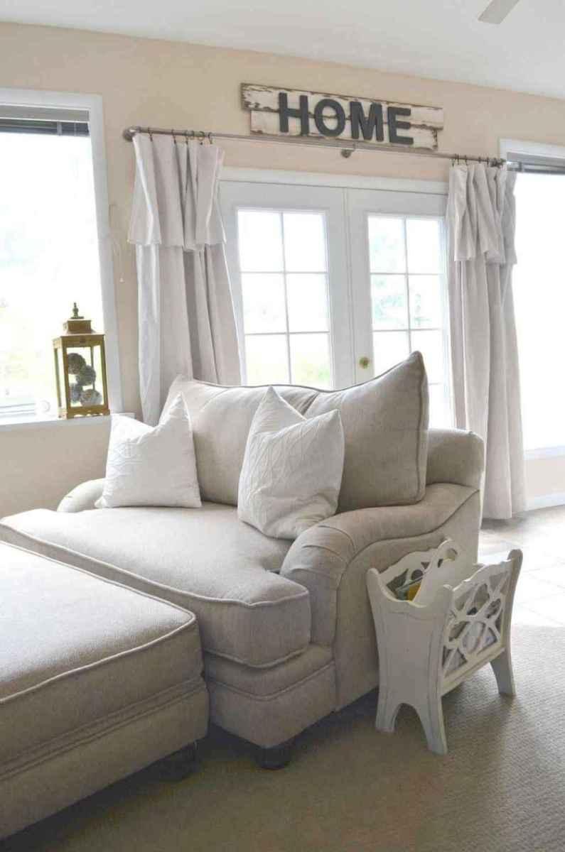 37 best modern farmhouse living room curtains decor ideas