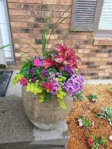 43 fabulous summer container garden flowers ideas