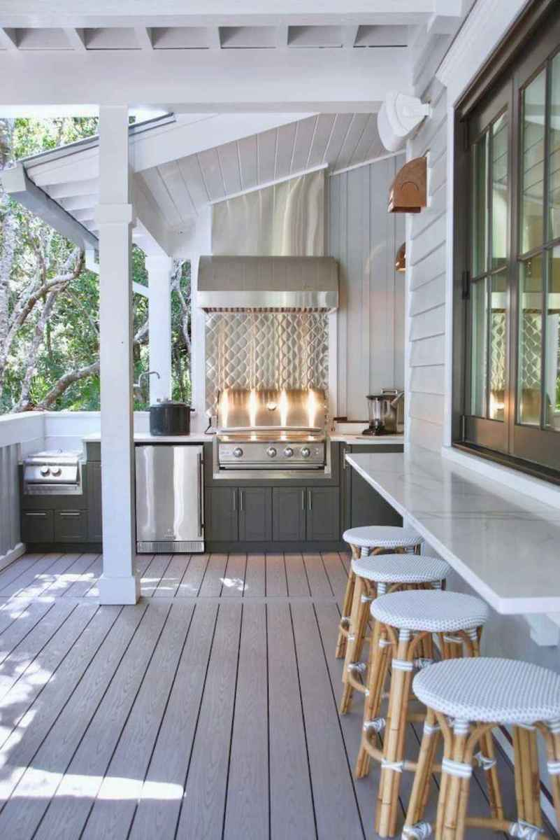 43 fantastic outdoor kitchen design for your summer ideas