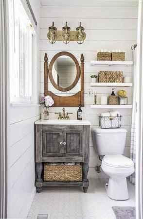 45 beautiful farmhouse bathroom remodel ideas