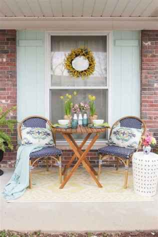 45 beautiful spring front porch decorating ideas