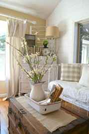46 best modern farmhouse living room curtains decor ideas