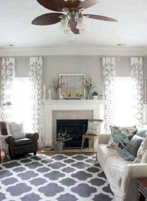46 cozy farmhouse living room rug decor ideas