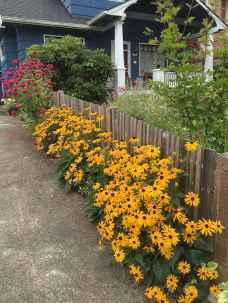46 stunning front yard cottage garden inspiration ideas