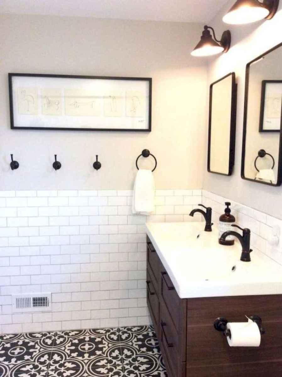 48 beautiful farmhouse bathroom remodel ideas