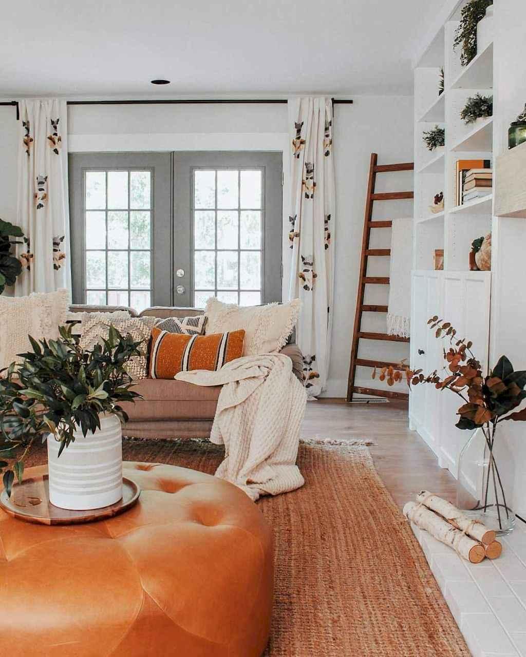 52 Best Modern Farmhouse Living Room Curtains Decor Ideas