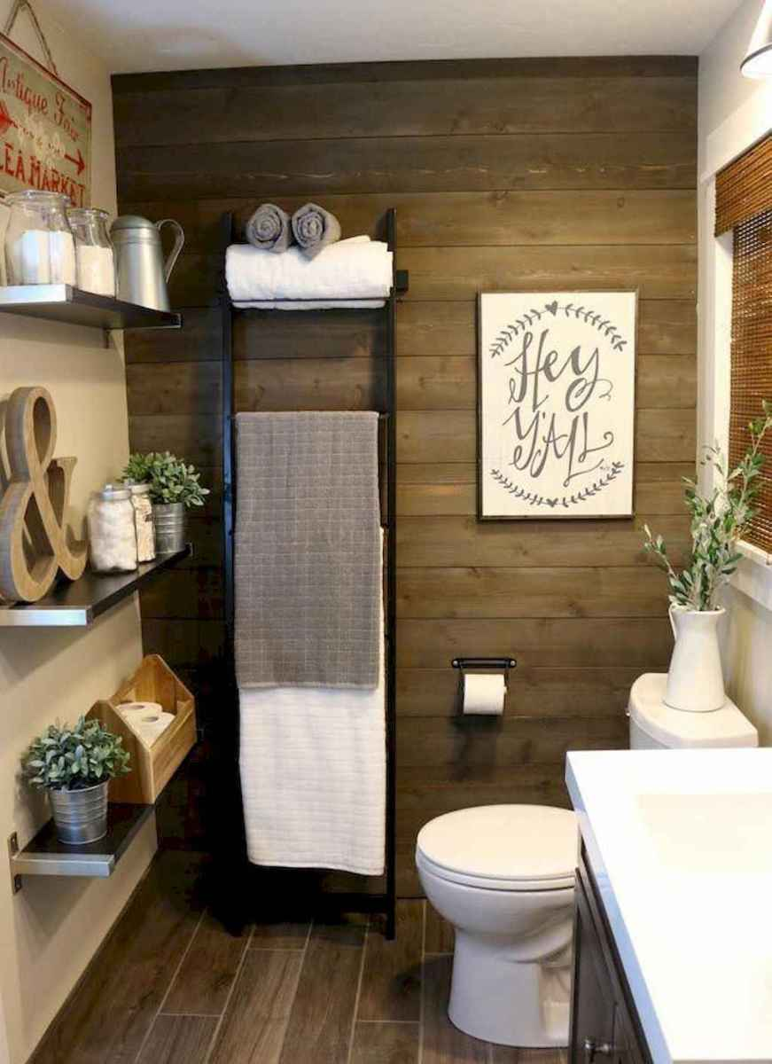 53 beautiful farmhouse bathroom remodel ideas