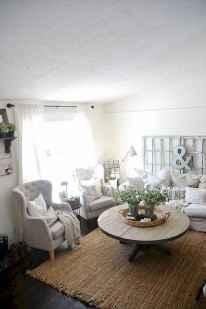 58 cozy farmhouse living room rug decor ideas