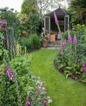 58 stunning front yard cottage garden inspiration ideas