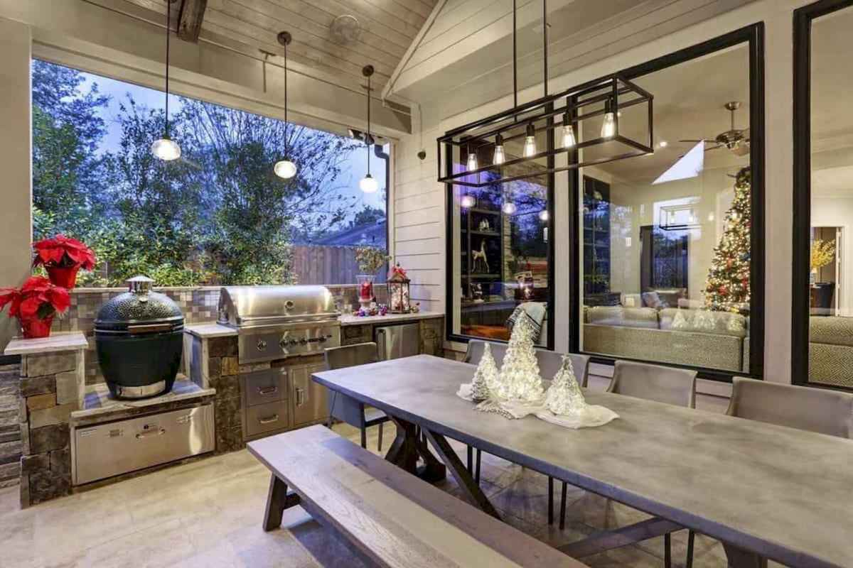 60 fantastic outdoor kitchen design for your summer ideas