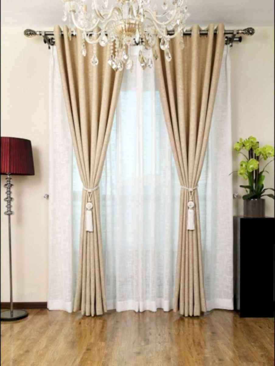 65 best modern farmhouse living room curtains decor ideas