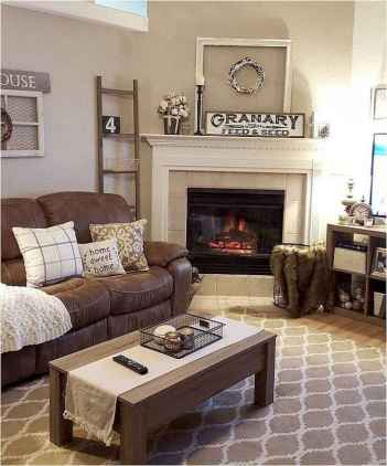 65 cozy farmhouse living room rug decor ideas