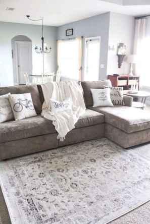 69 cozy farmhouse living room rug decor ideas