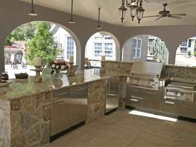69 fantastic outdoor kitchen design for your summer ideas