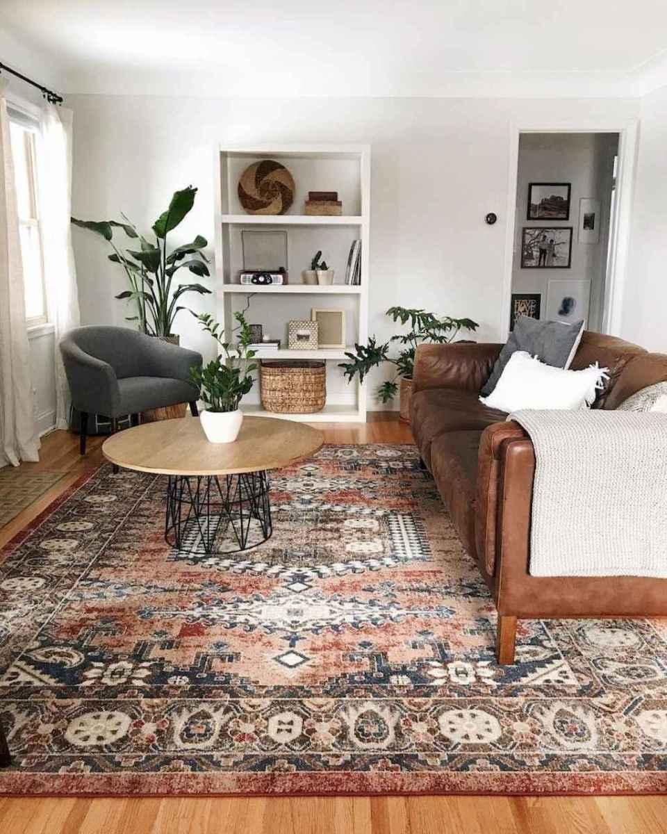 75 cozy farmhouse living room rug decor ideas