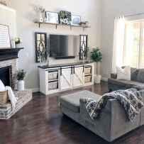 76 best modern farmhouse living room curtains decor ideas
