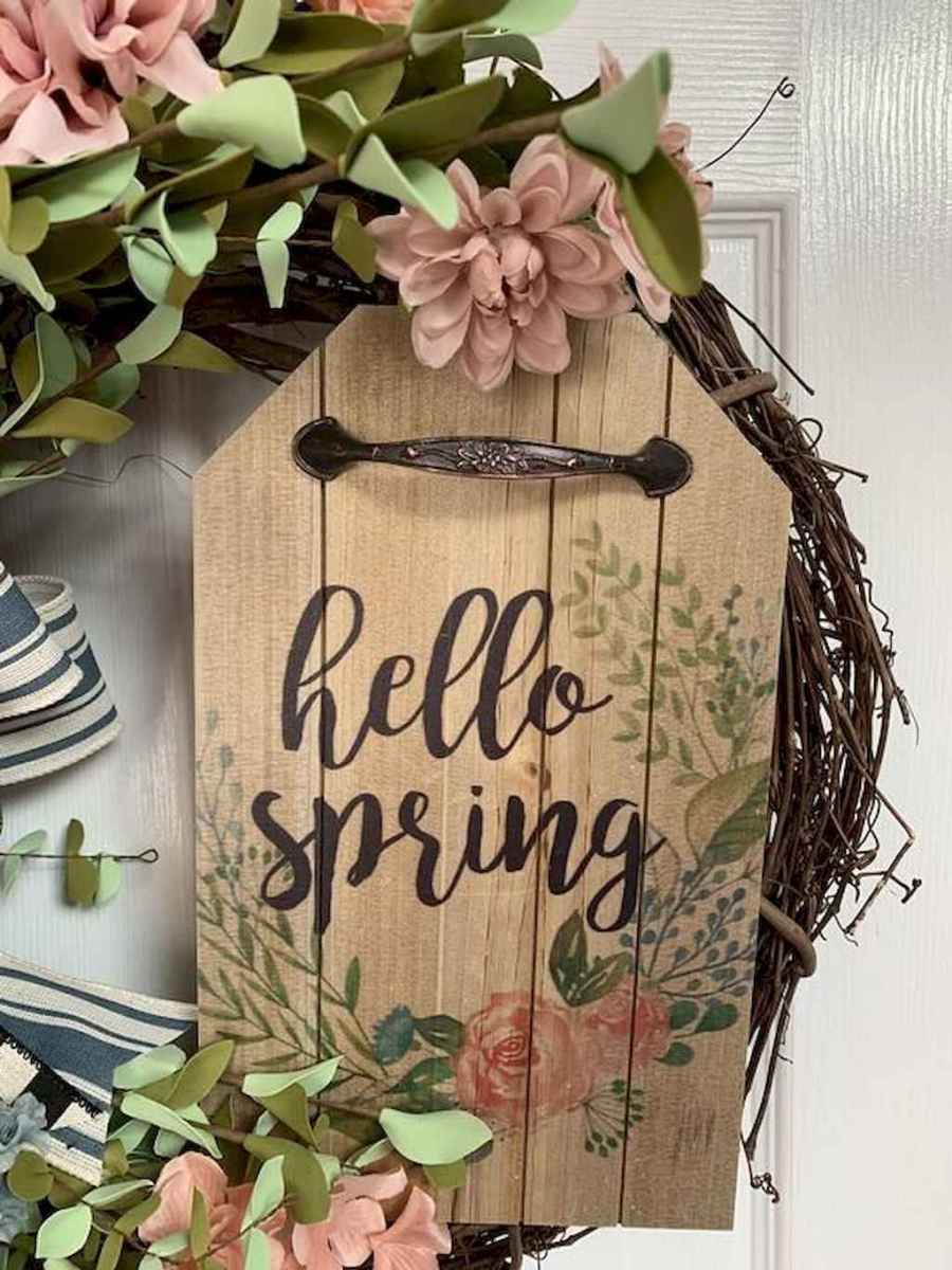 80 beautiful spring front porch decorating ideas