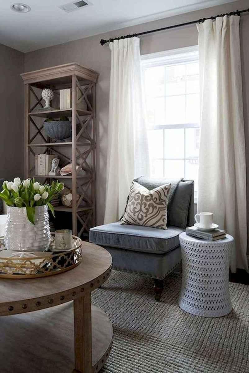 85 best modern farmhouse living room curtains decor ideas