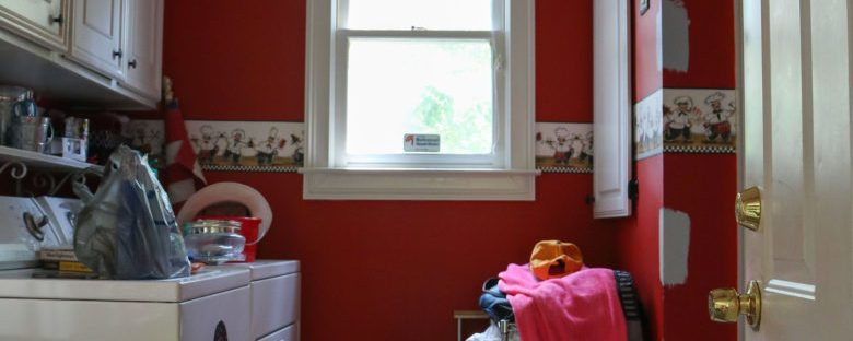 One Room Challenge: The Laundry Room, Week 1 | Homespun by Laura