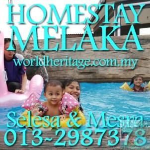 swimming-pool-kolam-renang-homestay-melaka-murah-indah-kembara-bandar-hilir-klebang-promosi