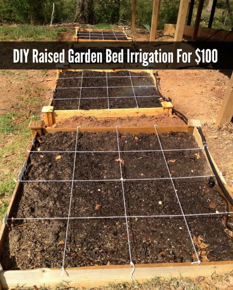 Raised Garden Irrigation