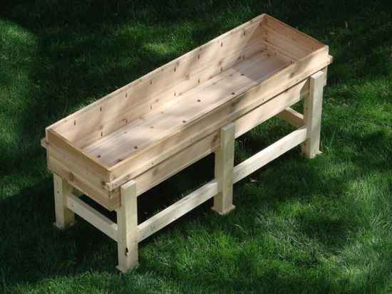 Plans Build Raised Planter Box