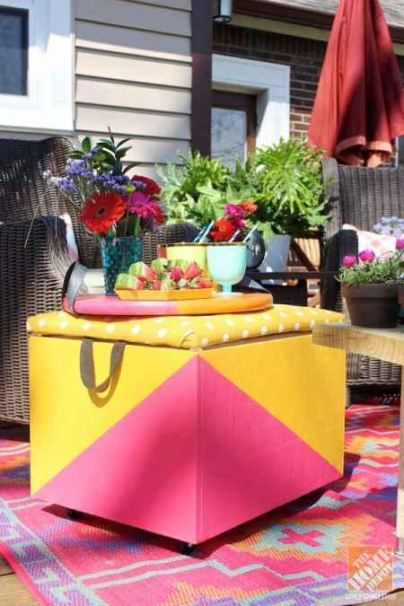 18 DIY Patio Furniture Ideas For An Outdoor Oasis on Diy Garden Patio Ideas id=89263