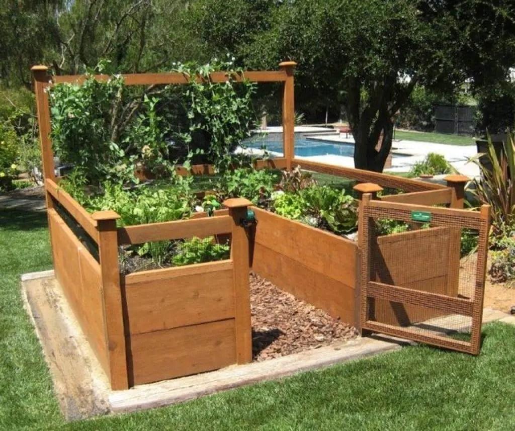 12 DIY Raised Garden Bed Ideas on Backyard Raised Garden Bed Ideas id=98532