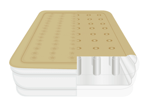 Cchambered Design of an Airbed