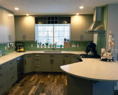Kitchen cabinet design Red Deer | Homestead Custom Carpentry