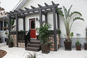 outdoor pergola deck
