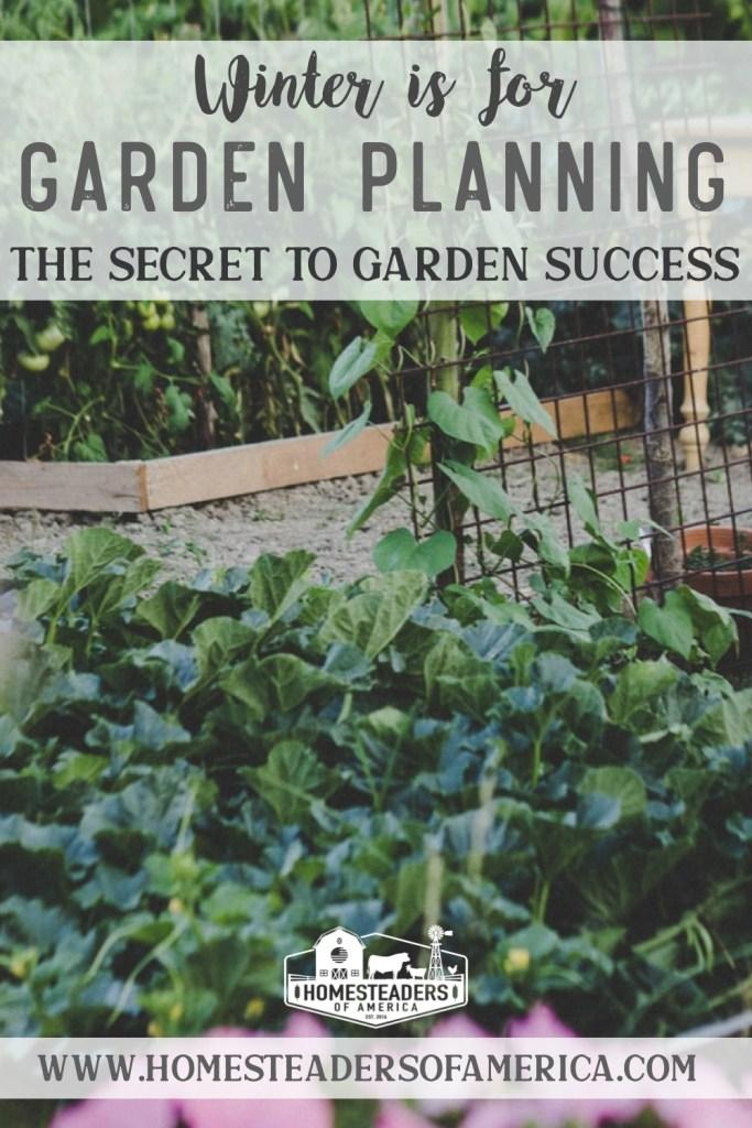Winter Garden Planning: The Secret to Garden Success
