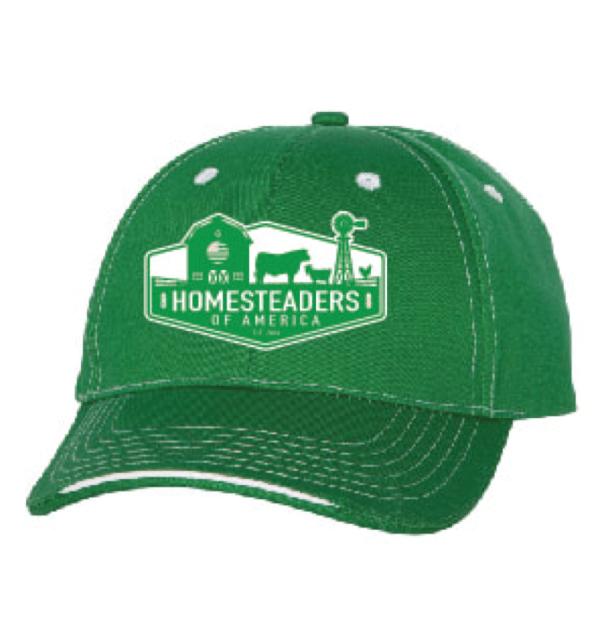 HOA Green Farmer's Cap