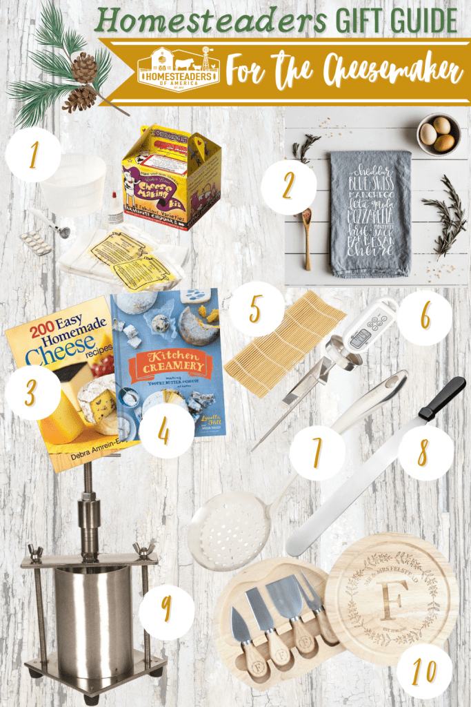 Gifts for Homesteaders (Cheesemaking)