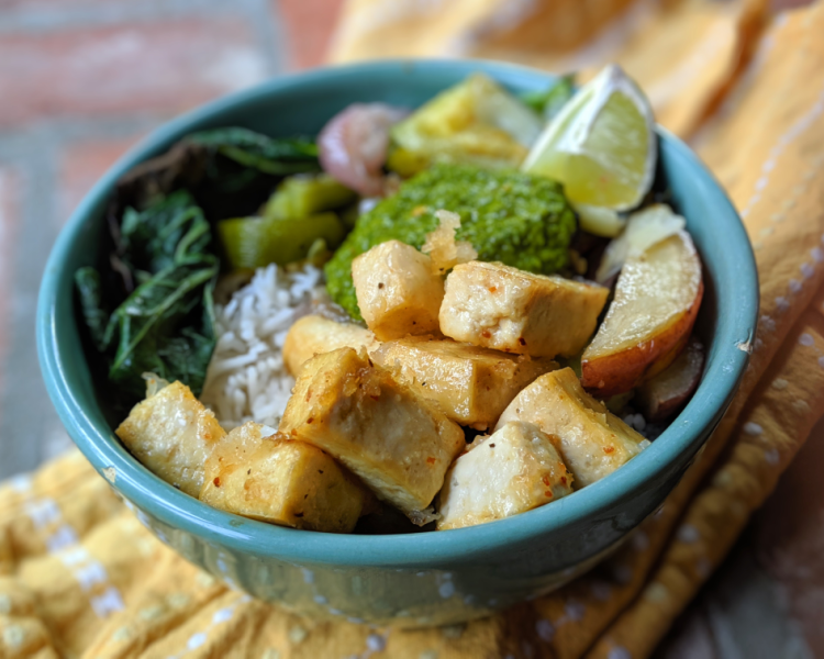 healthy high protein tofu gluten free recipe
