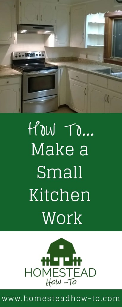 How to Make a Small Kitchen Work PIN