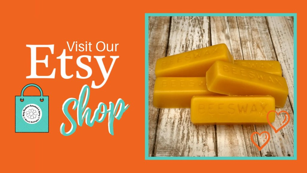 Visit our Etsy shop for more beeswax products