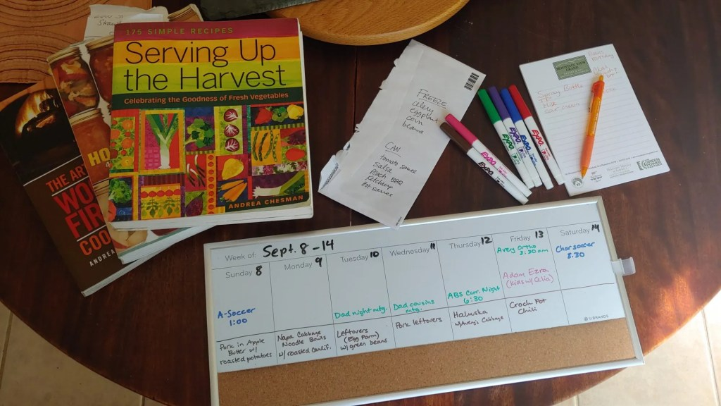 Tools for staying organized on the homestead