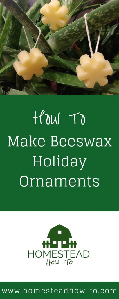 Beeswax Holiday Ornaments PIN