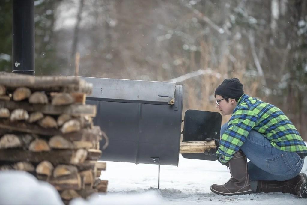 Choosing a heat source for boiling sap